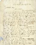 Letter, John L. Wilson to Joseph P. Wilson [April 27, 1854]