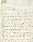 Letter, John L. Wilson to Joseph P. Wilson [November 30, 1854]