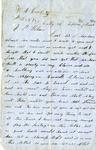 Letter, William A. Corbett to Joseph P. Wilson [March 23, 1856]