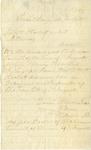 Letter, Gavin (?) W. Wilson to William A. Corbett [July 21, 1863]