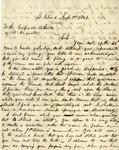 Letter, William A. Corbett to the Corporate Authority of St. Augusta [August 1, 1863] by William A. Corbett