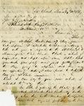 Letter, Joseph P. Wilson to Governor John Gregory Smith [August 22, 1869] by Joseph P. Wilson