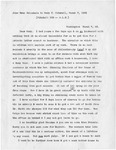 Letter, Jane Grey Swisshelm to Mary Mitchell [March 7, 1865]