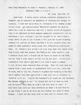 Letter, Jane Grey Swisshelm to Mary Mitchell [January 30, 1869]