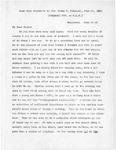 Letter, Jane Grey Swisshelm to Elizabeth Mitchell [June 20, 1883]