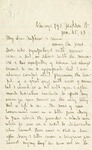 Letter, Jane Grey Swisshelm to Willima B. Mitchell and unknown [January 25, 1883]