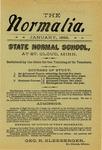 Normalia [Jaunary 1898]