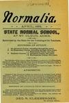 Normalia [April 1899]
