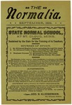 Normalia [September 1899] by St. Cloud State University