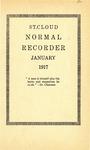 Normal School Recorder [January 1917]