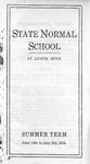 Summer Course Catalog [1915]