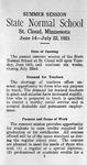 Summer Course Catalog [1921]