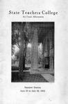 Summer Course Catalog [1932]