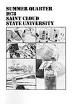 Summer Course Catalog [1978]