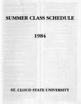 Summer Course Catalog [1984]