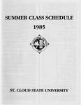 Summer Course Catalog [1985]
