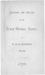 Undergraduate Course Catalog [1884/85]