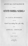 Undergraduate Course Catalog [1885/86]