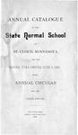 Undergraduate Course Catalog [1891/92]