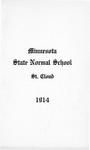 Undergraduate Course Catalog [1914/15]