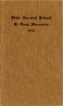 Undergraduate Course Catalog [1916/17]
