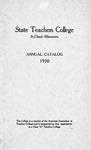 Undergraduate Course Catalog [1930/31]